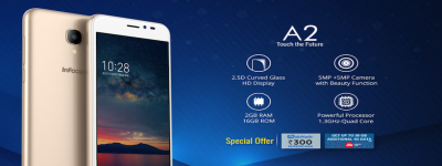 4G VoLTE compatible InFocus A2 up for sale in India